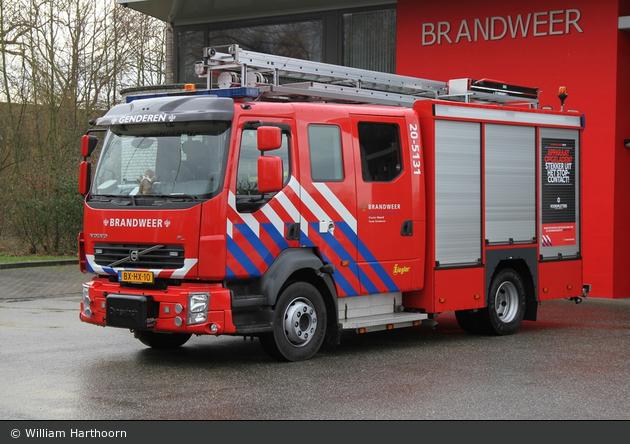 Aalburg - Brandweer - HLF - 20-5131