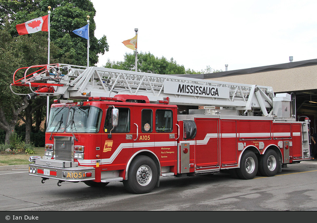 Mississauga - Fire & Emergency Services - Aerial 105