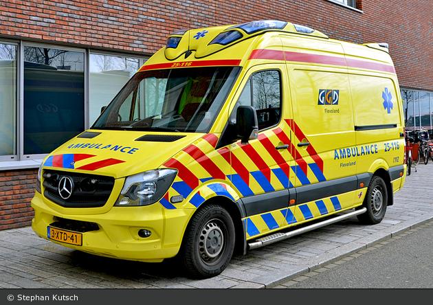 Einsatzfahrzeug Almere Geneeskundige En Gezondheidsdienst