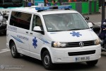 Paris - Ambulances Services Sainte-Marthe - KTW - AMB