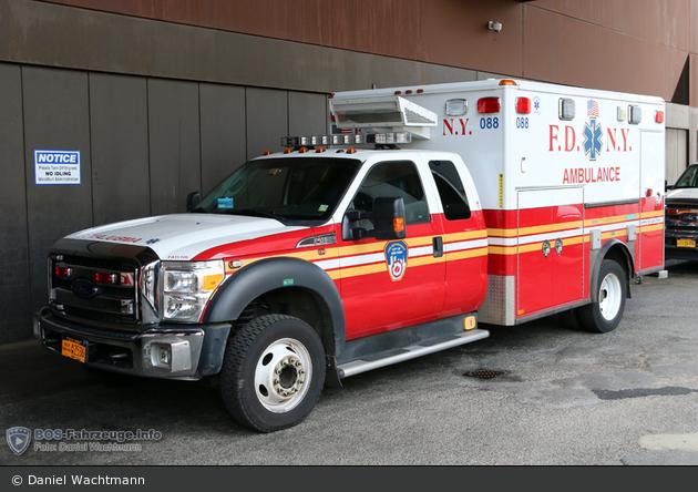 FDNY - EMS - Ambulance 088 - RTW