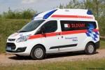 Ford Transit Custom - Rettungstechnik Klein - KTW
