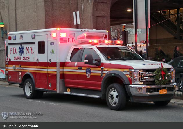 FDNY - EMS - Ambulance 1438 - RTW