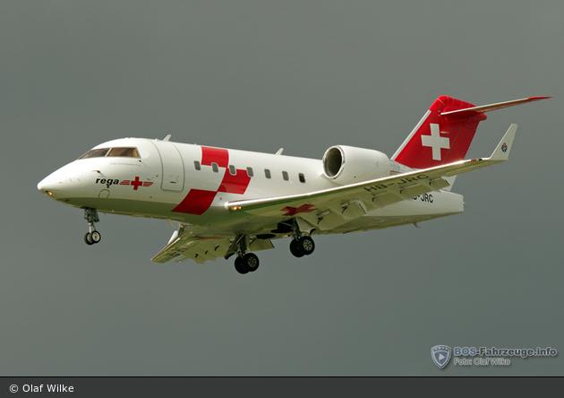 HB-JRC (c/n: 5540) - Rega - Ambulanzflugzeug