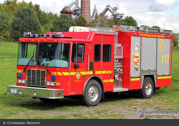 US - Baumholder - USAG Fire & Emergency Services - HLF