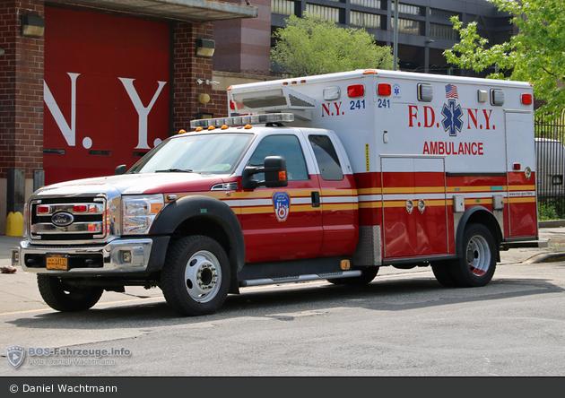 FDNY - EMS - Ambulance 241 - RTW