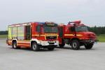 BY - Lkr. Hof HLF FF Feilitzsch & FLF Flughafen Hof Plauen