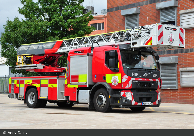 Stretford - Greater Manchester Fire & Rescue Service - TL