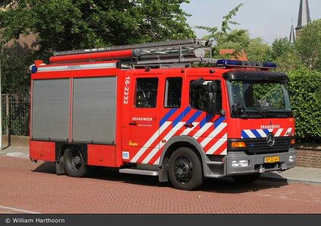 Alphen aan de Rijn - Brandweer - HLF - 16-2232
