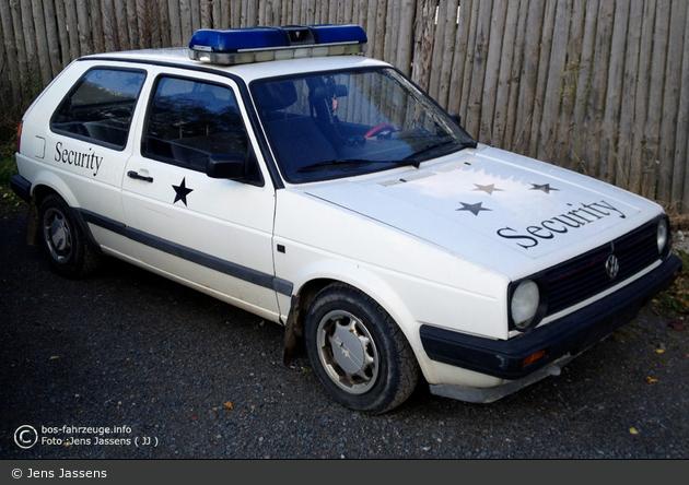 Hasselfelde - VW Golf II - Pullman City Security