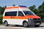 Volkswagen VW T5 - Ambulanzmobile Schönebeck - Testfahrzeug Bayern-KTW (a.D.)