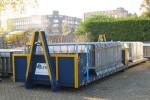Amsterdam - Politie - Team Transport - AB-Absperrgitter