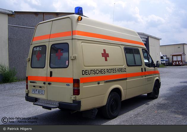 Rotkreuz Paderborn 16/85-02 (a.D.)