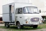 Beuster - Blaulichtmuseum Beuster - GTW - Barkas B1000