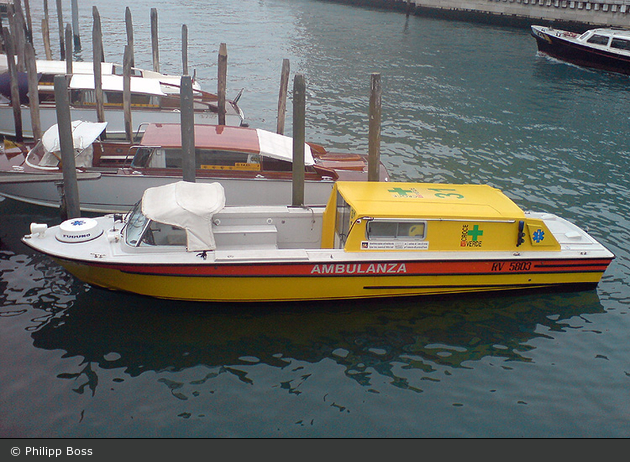 Venezia - Croce Verde Mestre - Ambulanzboot - 31