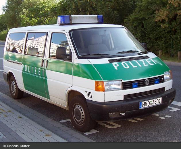 Rostock - VW T4 - FuStW (a.D.)