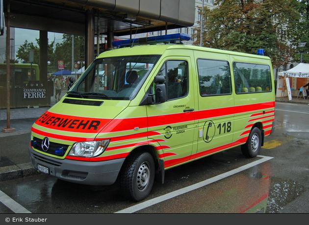 Zürich - Schutz & Rettung - MZF Löschkreis 4