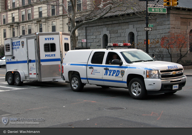 NYPD - Brooklyn - Mounted Unit - Pick-Up 7070