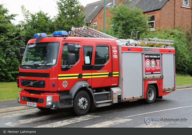 Birmingham - West Midlands Fire Service - PrL
