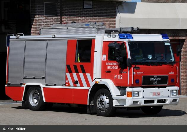 Brugge - Brandweer - HLF - A106 (a.D.)