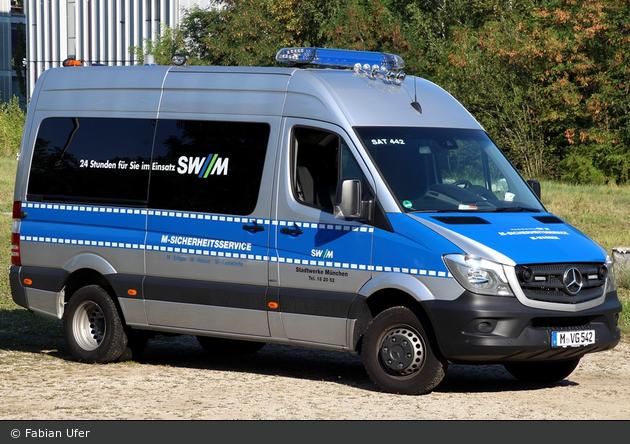 München - Stadtwerke München - Entstörfahrzeug SAT442