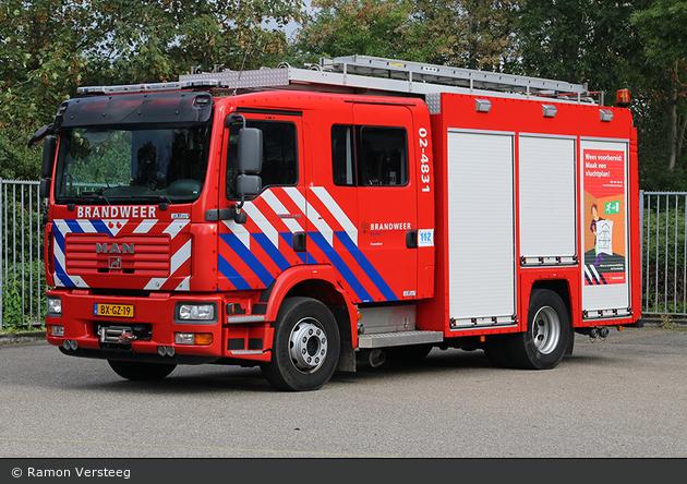 Waadhoeke - Brandweer - HLF - 02-4831