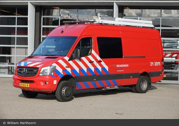 's-Hertogenbosch - Brandweer - GW-W - 21-2011