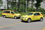 CH - Bern - Sanitätspolizei - Isolette & PKW