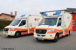 HE - DRK KV Fulda - Rotkreuz Fulda 06/83-01 & Rotkreuz Fulda 06/83-02