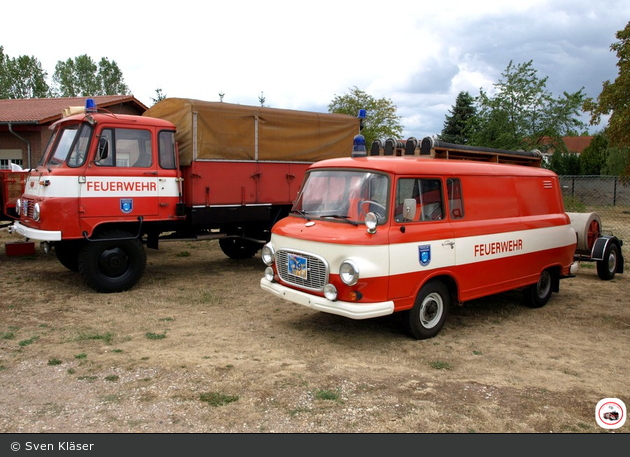 ST - FF Sandersdorf-Brehna OF Renneritz - Traditionsfahrzeuge