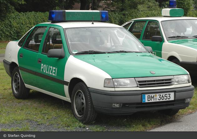 Einsatzfahrzeug Bm 3653 Opel Vectra A Fustw A D