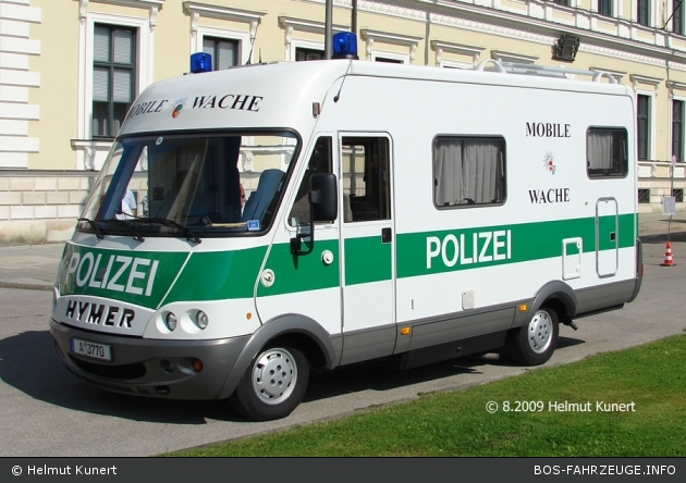 A-3770 - Hymer Mobil - Mobile Wache - Augsburg