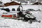 Alpe di Siuisi - Bergrettung Seis - Motorrettungsschlitten