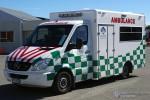 Masterton - Wellington Free Ambulance - RTW - 400 (a.D.)