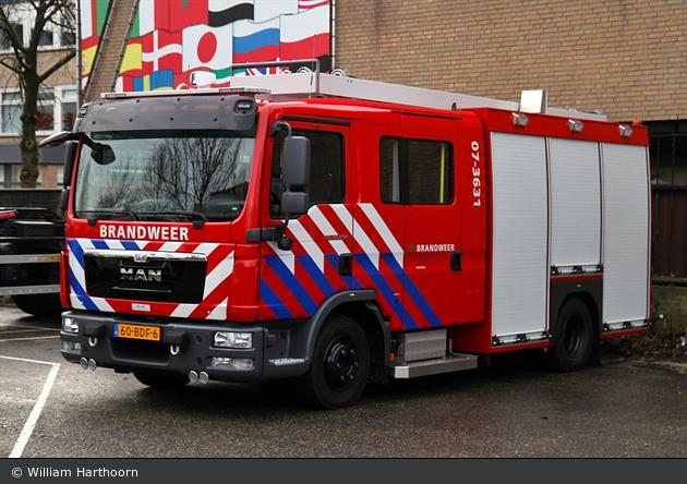 Arnhem - Brandweer - HLF - 07-3631