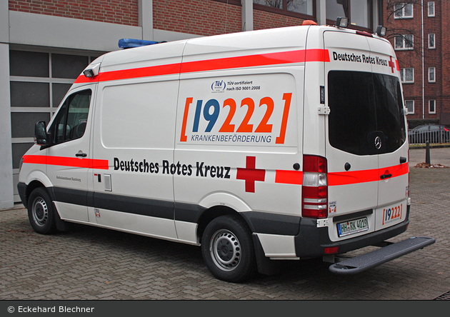 Rotkreuz Hamburg RTW 37/41 (HH-RK 4019)