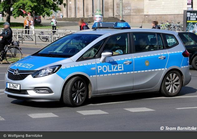 B-7647 - Opel Zafira - FuStW