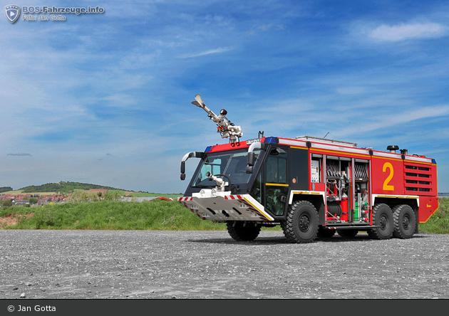 Fritzlar - Feuerwehr - FlKfz Mittel, Flugplatz