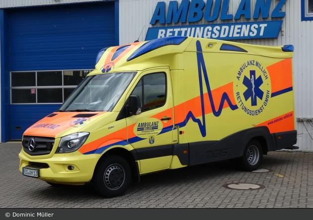 Ambulanz Millich - RTW