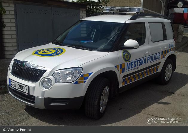 Benešov - Městská Policie - FuStW - 2SA 2060
