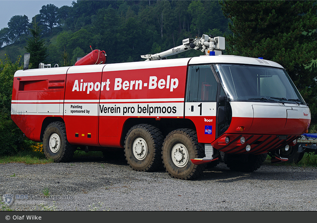 Bern-Belp - BFW Flughafen - FLF - Florian 1 (a.D.)