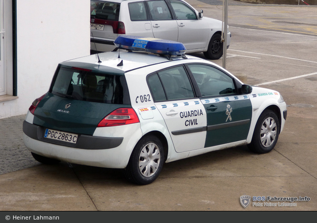 Cala Rajada - Guardia Civil - FuStW