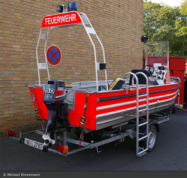Florian Wiesbaden Anhänger Rettungsboot
