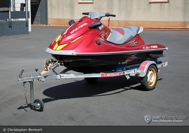 Canet-en-Roussillon - SDIS 66 - Jet Ski - VNM