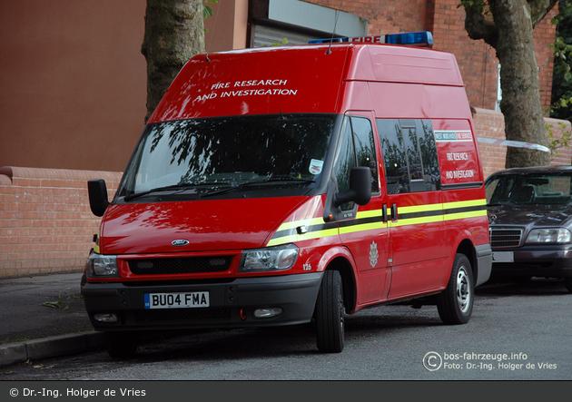 Birmingham - West Midlands Fire Service - FRIT