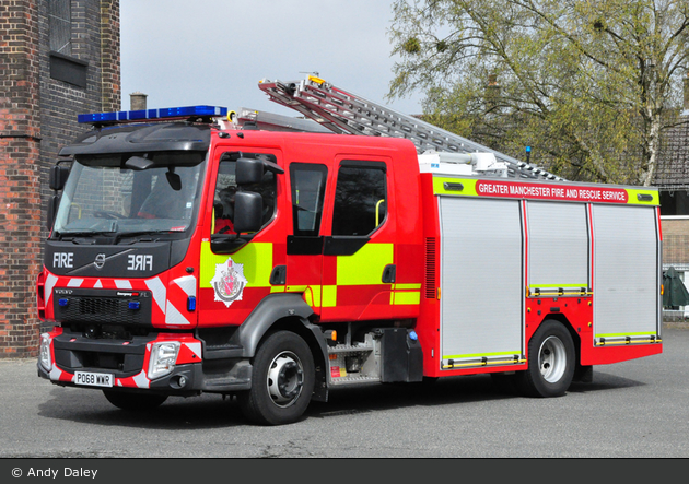 Whitefield - Greater Manchester Fire & Rescue Service - WrL