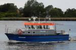 Polizei Rostock - Streifenboot Uecker