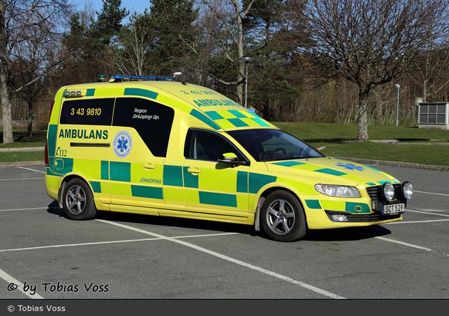 Habo - Ambulanssjukvård Jönköpings Län - Ambulans - 3 43-9810 (a.D.)
