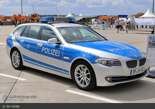 BP16-50 - BMW 520d Touring - FuStW