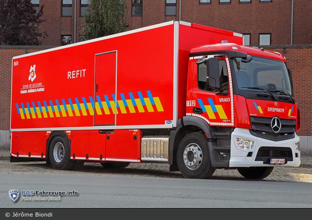 Verviers - Service Régional d'Incendie - GW-Hygiene - VR403